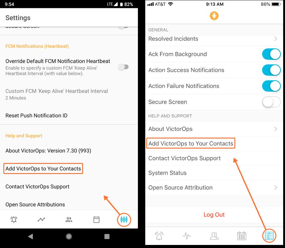 Phone Numbers for Sending Notifications | VictorOps Knowledge Base