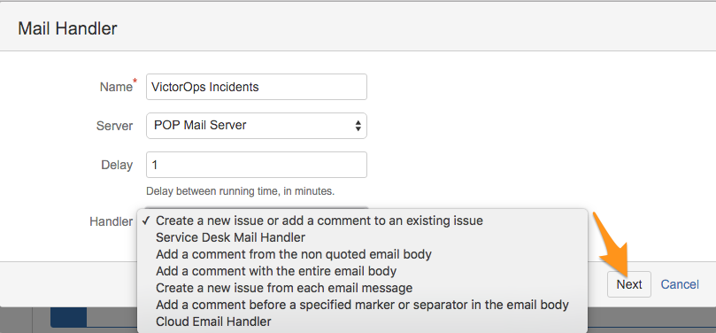 Create a new issue or add a comment to an existing issue - Jira VictorOps