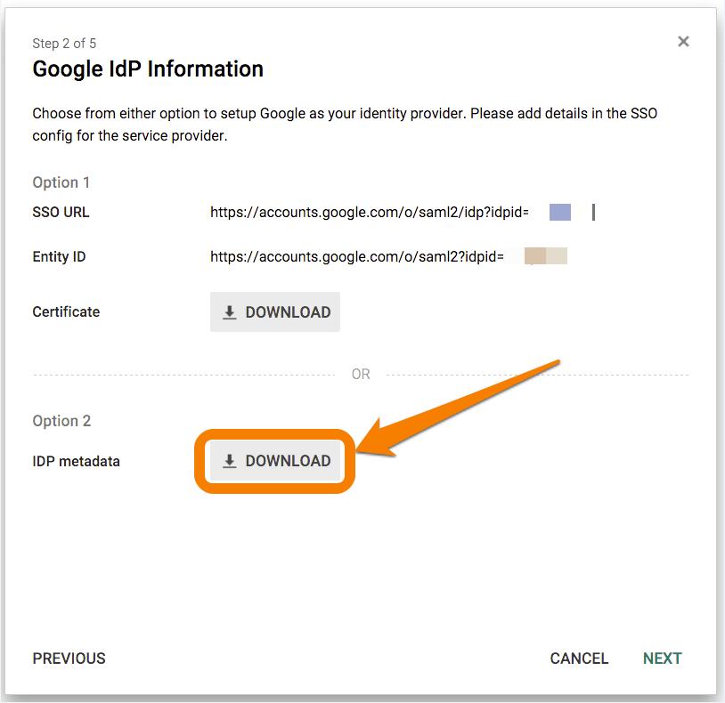 VictorOps SSO Google Apps Setup 4