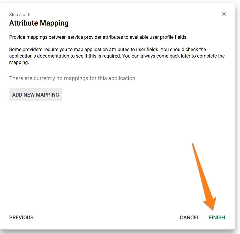 VictorOps SSO Google Apps Setup 7