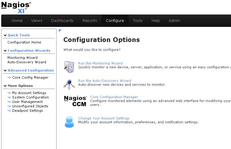 Click Core Config Manager - Nagios XI