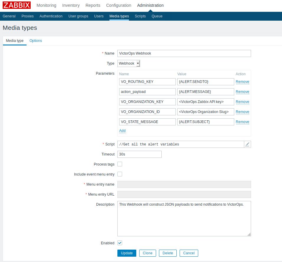 Zabbix Integration Guide - VictorOps | VictorOps