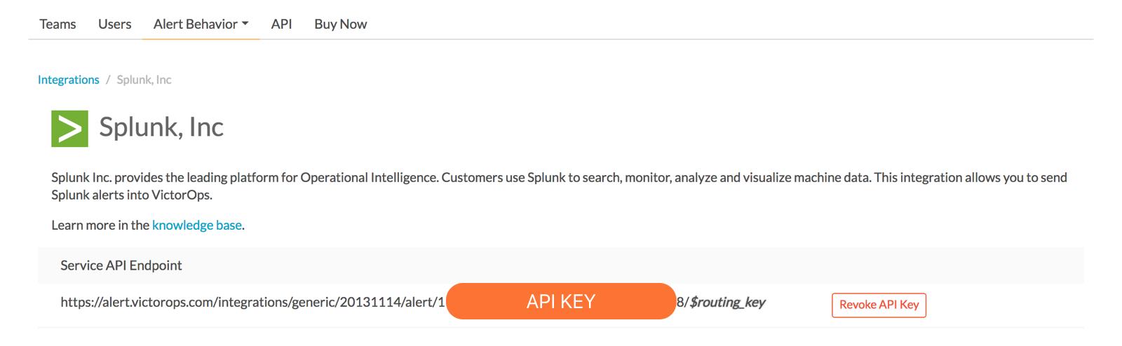 Splunk Integration Guide   VictorOps Knowledge Base