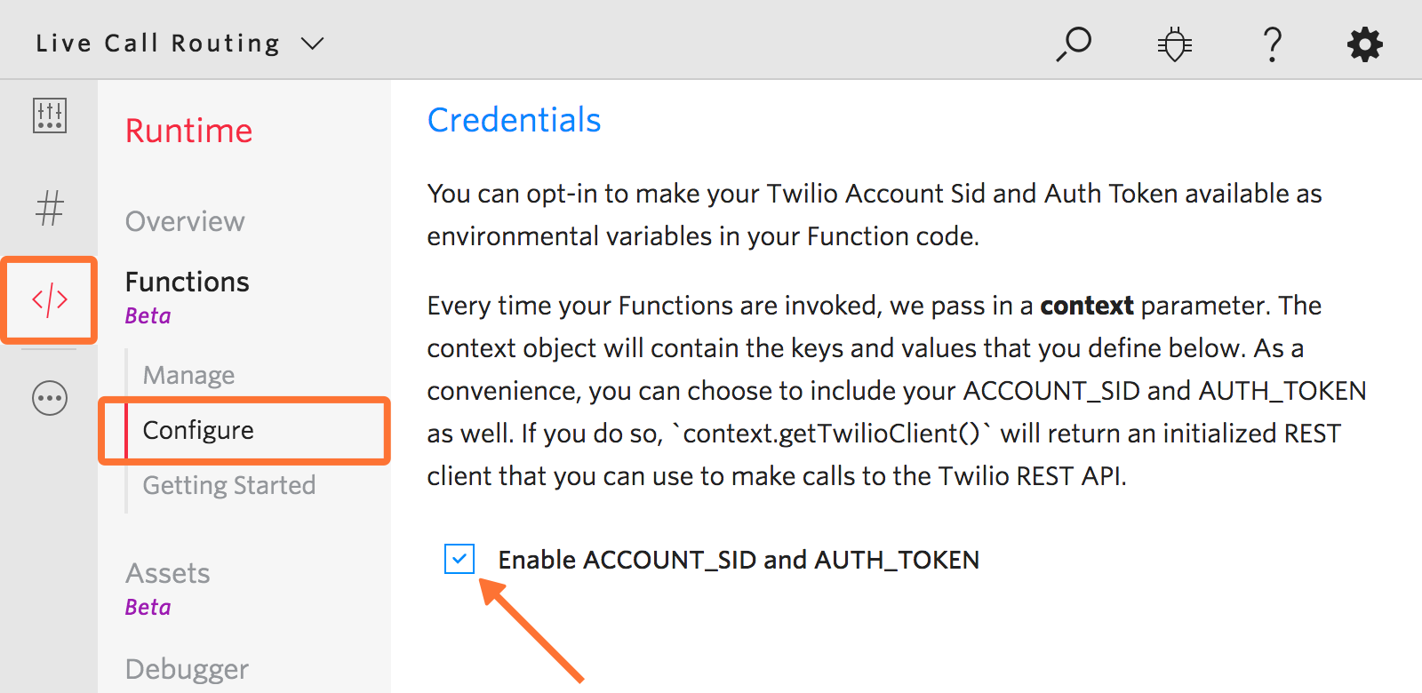 Twilio Live Call Routing Integration Guide | VictorOps Knowledge Base