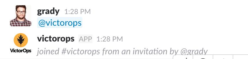 In slack - invite the bot