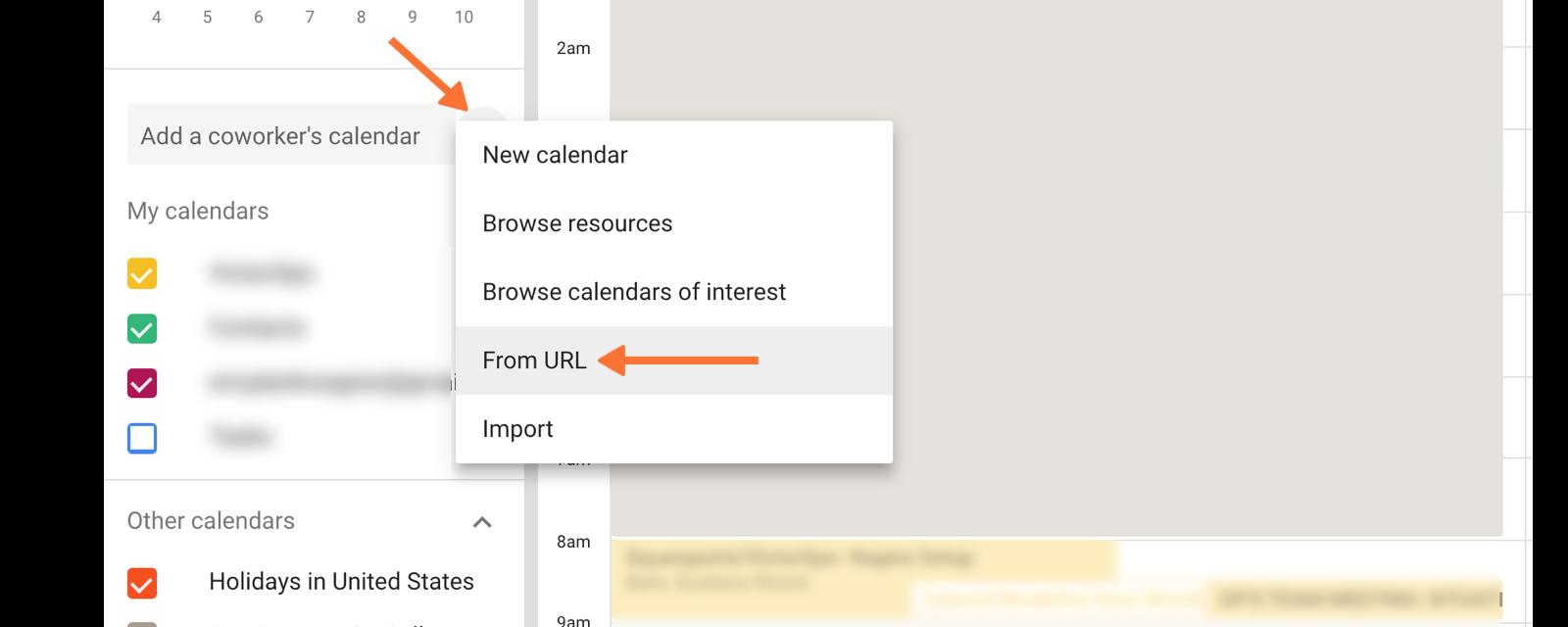 Calendar Export Knowledge Base – Personal Calendar