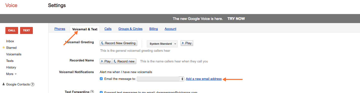 Google Voice Integration Guide - VictorOps | VictorOps